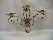"Home Interior Homco Beautiful ""Angelique 3 Cup Sconce"""