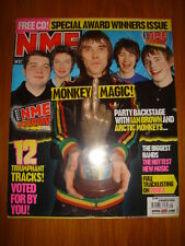 NME 2006 MAR 4 ARCTIC MONKEYS FRANZ FERDINAND EDITORS