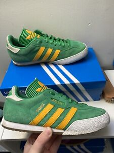 Adidas Samba Size 9 In Very Rare Brazil C/w