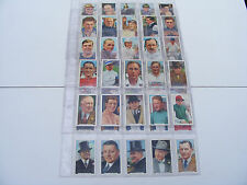 More details for gallaher   1936  sporting  personalities  cigarette  cards  complete  set  of 48