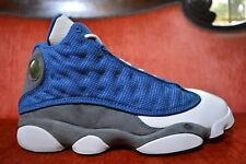 c7edee28f40 Nike Air Jordan 13 XIII Retro French Blue University Blue Flint Grey  414571-401