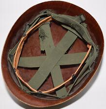 Vietnam War Us Military M1 helmet liner + sweatband + Corporal rank not a decal