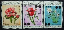 IRAK IRAQ 1971 Blumen Flowers Tag der Studenten Pflanzen 691-93 ** MNH