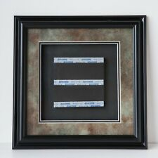 """Excel 12.25 x 12.25"""" Black Wood 1.25"""" Wide Floater Frame for 4.5 x 4.5"""" Picture"""