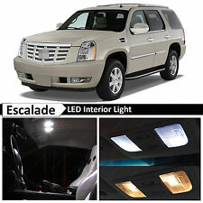 18x White Interior LED Lights Package for 2007-2014 Cadillac Escalade SUV