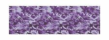 """GLOSS PURPLE DECAL MADE FROM 3M WRAP VINYL 48x15"""" TRUCK CAMO PRINT CAMOUFLAGE"""