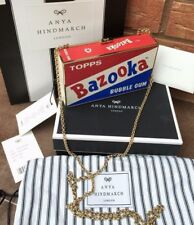 ANYA HINDMARCH SNAKESKIN RETRO BAZOOKA BUBBLE GUM BOX CLUTCH RETAIL £995 BNIB