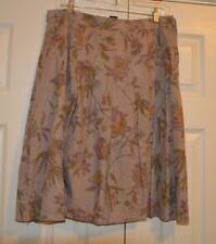 Votre Nom Collection france Vintage Skirt Women's Size T42 XL Floral