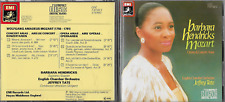 Mozart: Concert Arias/opera Arias: Barbara Hendricks (CD, 1984, Japanese IMPORT)