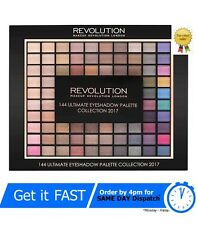 MakeUp Revolution 144 Ultimate Eyeshadow Palette 2017 Collection