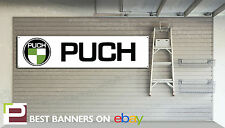 PUCH SCOOTER WORKSHOP GARAGE Banner
