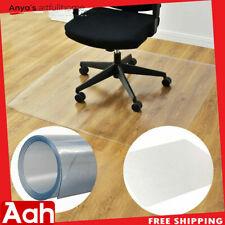 "NEW 48"" x 60"" PVC Chair Floor Mat Home Office Protector For Hard Wood Floors"