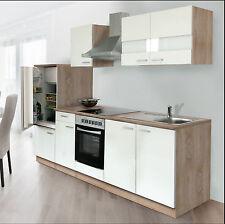 !!!NEU!!! Küchenzeile Respecta Economy 270cm Design Eiche sägerau Nachbildung