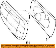 CHRYSLER OEM Side Fender Turn Signal Light-Repeater 4806224AE
