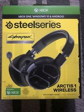 Steelseries Wireless Headphone Cyberpunk 2077 Johnny Silverhand  LimiTed Edition