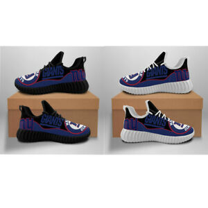 New York Giants Lightweight Breathable Casual Sneaker Gym Climber Jogging Shoes