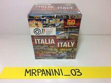 IL PATRIMONIO UNESCO IN ITALIA Panini - BOX da 50 Pacchetti Figurine-stickers