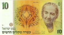 Israel, 1992 10 New Sheqalim P-53c (Unc) *Golda Meir*