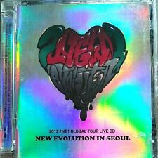 2012 2NE1 GLOBAL TOUR LIVE CD NEW EVOLUTION IN SEOUL CL DARA BOM MYNJI K-POP F/S