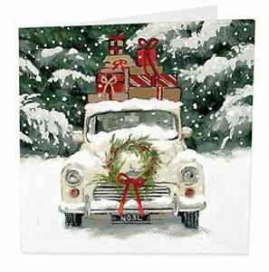 Artbeat Charity Christmas Cards - Noel (Car) - Pack of 6 Cards in aid of Shelter