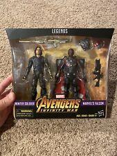 Winter Soldier & Falcon 2-Pack Marvel Legends Avengers Infinity War Figures