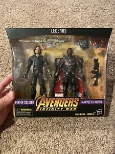 Winter Soldier & Falcon 2-Pack Marvel Legends Avengers Infinity War Figures