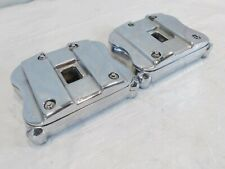Indian Gilroy Scout & Spirit & Chief Chrome Cylinder Head Rocker Arms & Boxes