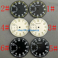 36.8mm Watch Dial Kit ETA 6497 Seagull ST36 Movement Sterile Watch Faces P794