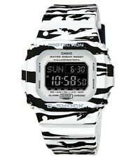 Casio G Shock * DWD5600BW-7 Digital Square Tiger Camo Black & White COD PayPal