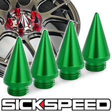 4 PC 24K GOLD SPIKES FOR SICKSPEED ALUMINUM EXTENDED TUNER LUG NUTS P6