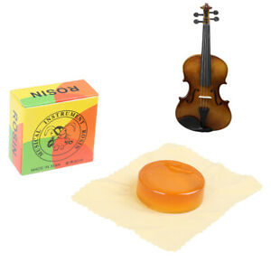 1PC Erhu Rosin Violin Rosin Transparent Yellow Rosin For Violin Bowed StrinHFUK