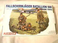 1/35 Dragon 4 German Paratroopers Fallschirmjager Bat. 500 Drvar 1944 # 6145