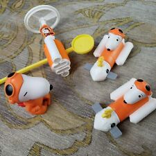 Snoopy Nasa 2019 Wind Up Space Rocket Toys With Woodstock Set