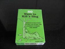 50 Ways To Kill A Slug Sarah Ford (Cards)