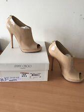 Jimmy Choo 36,5 Uk 3,5 Beige Glint Boots, Elegant!