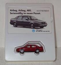 Wiking VW Passat im Set mit Telefonkarte zur Einführung 1:87 OVP (R2_2_73)