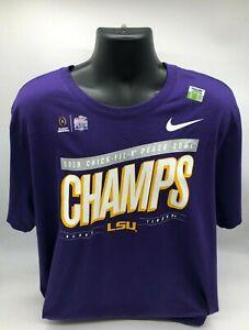 Nike - LSU Tigers 2019 Champs Locker Room T-Shirt - Chick FIL A Bowl -