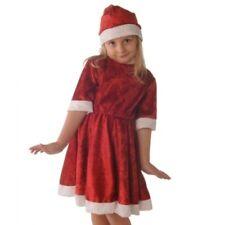 Ragazze Santa Natale Vestito per 5 - 6 anni, nuova