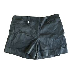 White House Black Market Signature Collections Black Shorts Women Size 14 Stretc