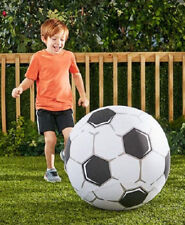 """Giant Super Sized 22"""" Inflatable Soccer Ball, with Repair Kit"""