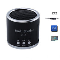 Multimedia Portable Mini Music Speaker FM Radio USB Micro SD TF Card MP3 Player
