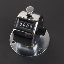 Digital Hand Held Tally Counter 4 Digit Number Manual Counting Golf Clicker US