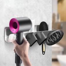 Isunday Haartrockner Halter Wandmontage Haartrockner Rack Aluminium Halterung Aufbewahrung Regal Organizer f/ür Badezimmer