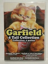 Garfield 4 Tail Collection DVD Set, Movie, Two Kitties, Gets Real, Pet Force