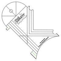 Handi Quilter HQ Versa Tool Mult-Purpose Template Mid-Arm Longarm Handiquilter