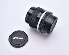 Nikon NIKKOR f/2 35mm Wide Angle Ai-S Lens with Caps Prime (#7185)