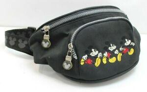 Vintage 90s Disney Mickey Sport Embroidered Nylon Waist Hip Bag Fanny Pack OS