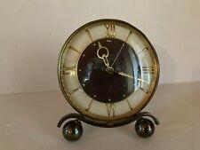 ancien réveil pendulette marque JAZ  année 40 50 Mécanique fonctionne à réviser
