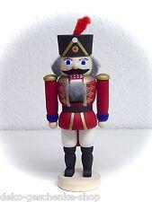 Casse-Noisette Hussard Rouge 12 cm véritable Erzgebirge 15901
