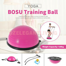 Sale Bosu Aerobic Exercise Gym Fitness Balance Trainer Yoga Resistance Ball New
